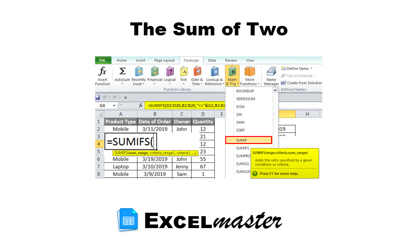 The Sum of Two
